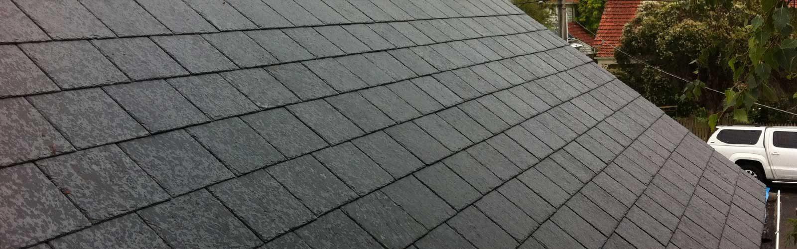 Del Carmen Ultra slate tiles on new slate roof