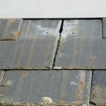 Poor quality slate roofing with faulty installation rusting after only 4 years!