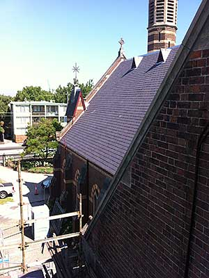 Slate Roofing on St. Michaels